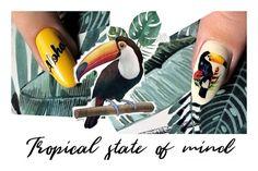 🐅J U N G🦜L E B O O K 🌵  HOT summer manicure Summer Nails, Tropical, Bird, Hot, Summery Nails, Birds, Torrid