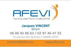 Carte De Visite AFEVI