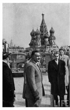 الزعيم جمال عبد الناصر في روسيا