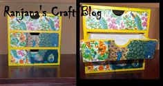Decoupage is a craft, which creates magical effect on simple objects,using simple techniques. Decoupage, Objects, Simple, Frame, Blog, Crafts, Home Decor, Homemade Home Decor, Creative Crafts