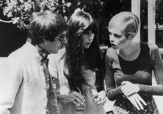 Sonny Bono, Cher and Twiggy