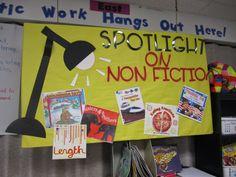 The Half Full Chronicles: SPOTLIGHT Bulletin Board Idea