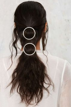 Full Circle Hair Clip Set - Silver | Shop Accessories at Nasty Gal!