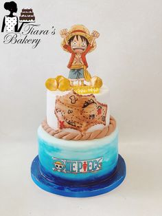 Cake Birthday, 7th Birthday, One Piece, Baking Ideas, How To Make Cake, Switzerland, Bakery, Birthdays, Cookies