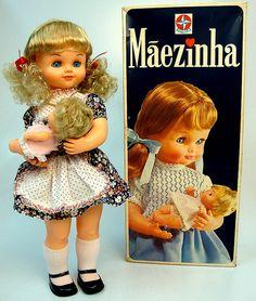 Boneca Mãezinha - Estrela - Brasil - 70's