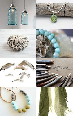 and the sea by Leslie on Etsy