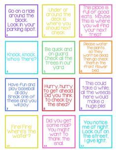 Smart Phone Easter Egg Hunt for Older Kids | Bits of Everything