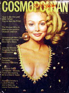 Cosmopolitan magazine, DECEMBER 1969 Model: Peggy Palmer