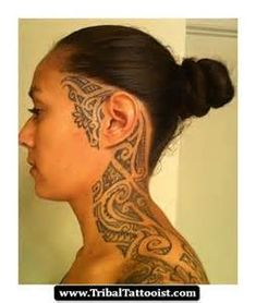 ilocano Tribal Tattoo Girls - totally cool