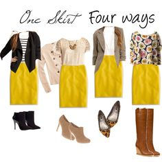 yellow skirt...I have one!
