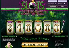 Play at Slots Jungle Online Casino