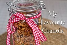 Katie Brown - My Favourite Homemade Granola (to date!) — Oh She Glows (Create TV)
