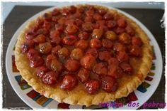 Tarte de tomate-cereja!! http://ratatuidospobres.blogspot.pt/2013/08/tarte-de-tomate-cereja.html