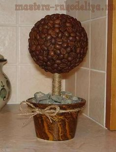 DIY Coffee Beans Arrange Step By Picture Instructions Russian Site Need Wedding CraftsCoffee Theme KitchenDecorating IdeasCraft