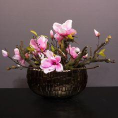 Magnolia roze :: Seta Fiori webshop  € 59,=  www.setafiori.nl