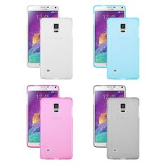 Soft TPU Silicone Rubber Gel Back Case Cover Skin for Samsung Galaxy Note 4 IV   eBay