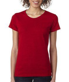 5000L Gildan Heavy Cotton™ Ladies' T-Shirt Antique Cherry Red (90/10)