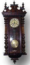 Gustav Becker RA Regulator Clock - Antique Clocks Guy - Reference Library