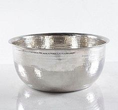 "An elegant, hygienic alternative to noisy thrones or jets, made in resin, stainless steel & copper to enhance every spa décor. Our collection of Pedicure Bowls are sleek, sculptural, surprisingly lightweight, yet large enough to accommodate size-14 feet. Manicure Bowls, Foot Rests, and Treatment Dishes in matching resin colors offer the final touch to your spa! Material: Stainless Steel Measurements: 20"" wide top rim, 14"" Wide Base and 8"" Depth Weight: 5.5lbs Care: Durable and easy..."