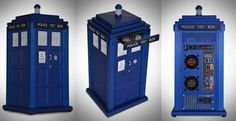 Something for the Doctor Who supernerd in your life: The official Doctor Who TARDIS aluminum computer case