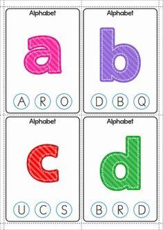 FREE Alphabet Clip It! Cards