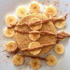 Turmeric & Ginger Pancakes (no added sugar) #vegan #recipes