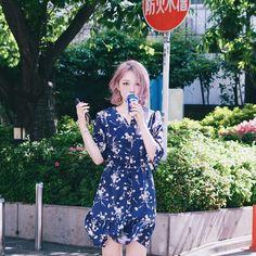 Pony Park hye min make up ♥, Ulzzang Fashion, Ulzzang Girl, Asian Fashion, Park Hye Min, Short Hair Cuts, Short Hair Styles, Pony Makeup, Popular Girl, Asian Celebrities