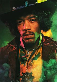 Jimi Hendrix (11/27/42 - 9/18/70) American musician and singer-songwriter. He is widely considered to be the greatest electric guitarist in music history and one of the most influential musicians of the times.