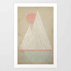 would make a great embroidery | Nothing More by Wesley Bird | Society6
