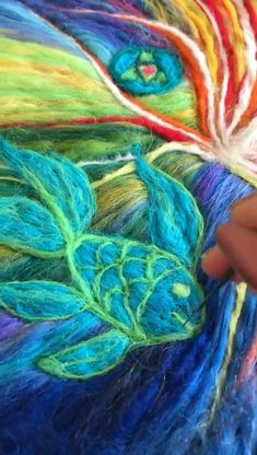 My wool art How Sound Insulations Work Sound insulations are insulating materials that work to reduc Needle Felted, Nuno Felting, Felt Pictures, Needle Felting Tutorials, Fabric Journals, Wool Art, Textiles, Felt Crafts, Felted Wool Crafts