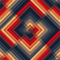 In the Mood for Portnawak Geometric Patterns, Geometric 3d, Geometric Designs, Graphic Patterns, 3d Pattern, Abstract Pattern, Motif Vintage, Art Design, Op Art