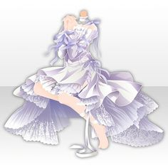 Anime Outfits, Dress Outfits, Cute Outfits, Little Dresses, Cute Dresses, Cocoppa Play, Fashion Design Drawings, Star Girl, Drawing Clothes