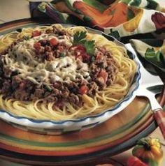 Spaghetti Pie Ole image