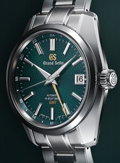Grand Seiko Hi-Beat 36000 GMT Limited Edition SBGJ227 Watch Brings The Popular Green Dial GMT Back