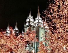 temple square christmas lights 2012 - Google Search