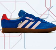 free shipping dc404 b580c Adidas- Gazelle super London to Manchester pack
