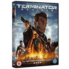 Terminator Genisys DVD New Sealed Region 2