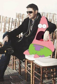 This is seriously the most accurate shocked Patrick picture ever this is EXACTLY how I would look....
