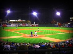Principal Park under the lights! I-Cubs back home tomorrow for 13 games in 11 days. start to open the home stand. Cubs Baseball, Baseball Field, Iowa Cubs, Miss Iowa, Drake University, 13 Game, Under The Lights, Baseball Season