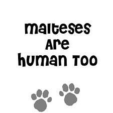 Malteses are human too