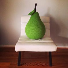 Who wouldn't want an over sized pear in their house!!