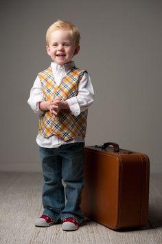 Boys Vest Sewing Pattern, Easy PDF Tutorial, 3m-7  Reversible via Etsy