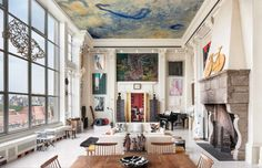 architecture New York Loft New York Loft Adorned by Fascinating Art Collection Worth $20 Million