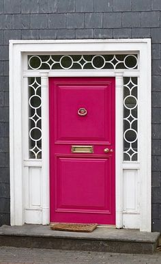 Kinsale, County Cork, Ireland by concetta Cool Doors, Unique Doors, Door Entryway, Entry Doors, Front Door Porch, Front Doors, Gate Handles, Entrance Gates, Grand Entrance