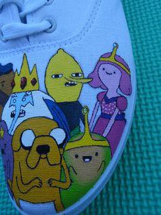 Adventure Time Shoes - Imgur