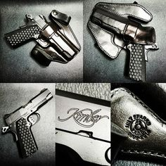 The Best Concealed Carry Guns For Women - Allgunslovers Concealed Carry Weapons, Concealed Carry Women, Handgun For Women, Kimber Pro Carry Ii, Best Handguns, American Flag Photos, Wilson Combat, Custom Glock, Leather Holster