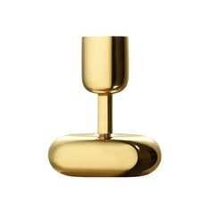 iittala Nappula Brass Short Candle Holder Inspiration for the iittala Nappula Brass Short Candle Holder came to designer Matti Klenell at the Nuutarjärvi glass museum, where he was drawn to the distinctive design of an interestingly shaped cha.