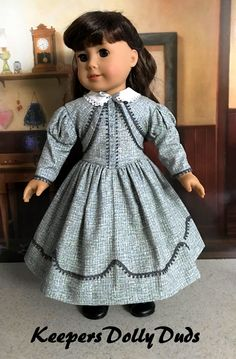 Sewing Doll Clothes, Girl Doll Clothes, Doll Clothes Patterns, Girl Dolls, Doll Patterns, Ag Dolls, American Girl Clothes, American Girls, Girls Dresses