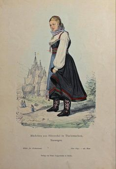 Folk Costume, Costumes, Berlin, Norway, Culture, Illustration, Movies, Movie Posters, Clothing