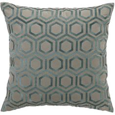 DL Rhein Hexagon Taupe Velvet Pillow for Gabby Helena sofa #laylagrace #gabbydecor